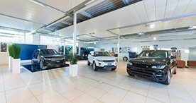 Showroom LandRover